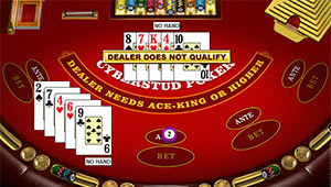 Poker casino game