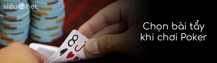 cách chọn hand khi chơi poker