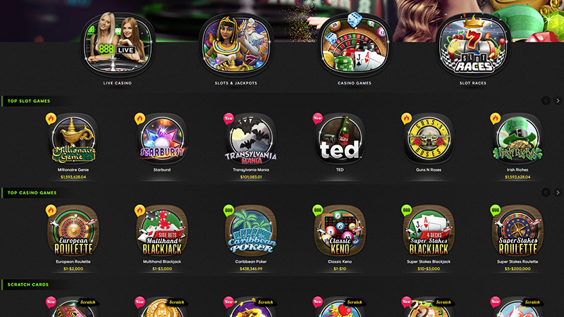 sòng bạc 888 Casino