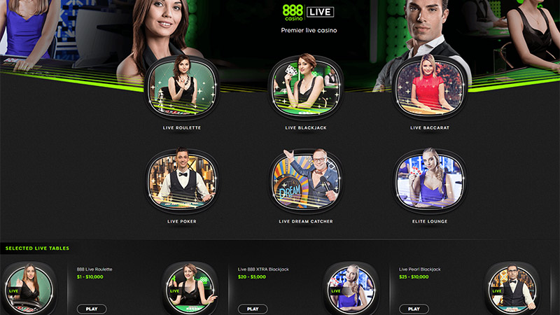 game ăn tiền tại 888 Casino