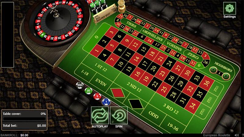 chơi roulette tại sòng bạc 888