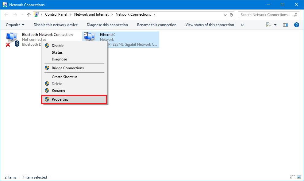 Cách đổi DNS để vào web cá độ trên windows 10,7
