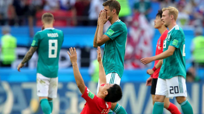 Đức thua World Cup 2018 do không thay đổi