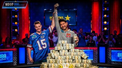 John Cynn vô địch WSOP 2018 Main Event, nhận 8,8 triệu USD