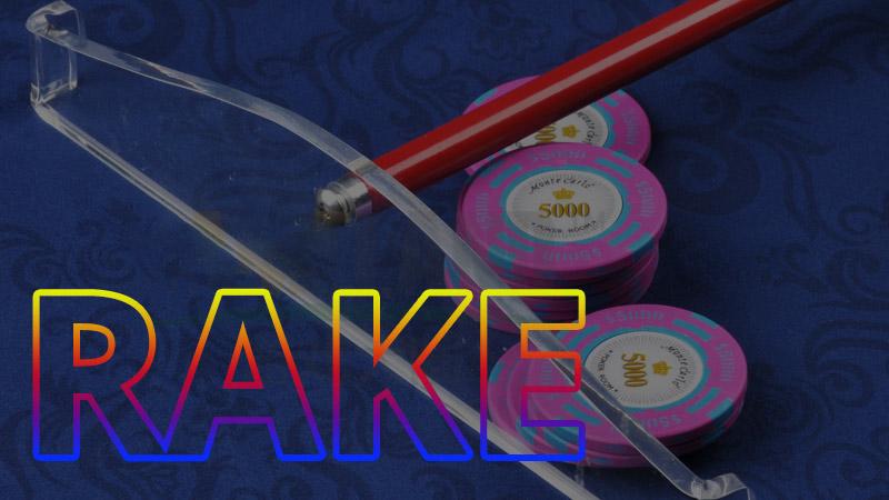 Giải thích ảnh hưởng của rake khi chơi poker