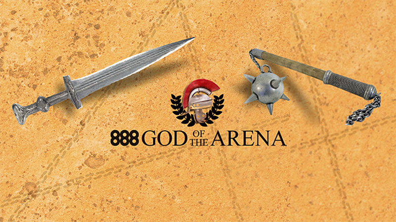 Giải đấu nốc ao God of the Arena tại 888poker