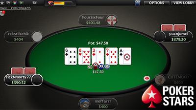 chơi xì tố PokerStars