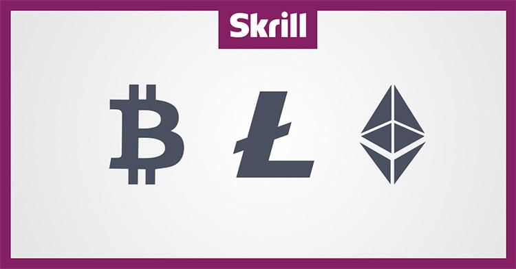 Skrill hỗ trợ mua bán tiền điện tử