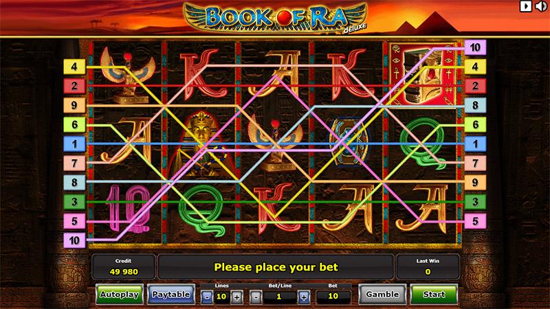 Hàng thanh toán trong Slot game