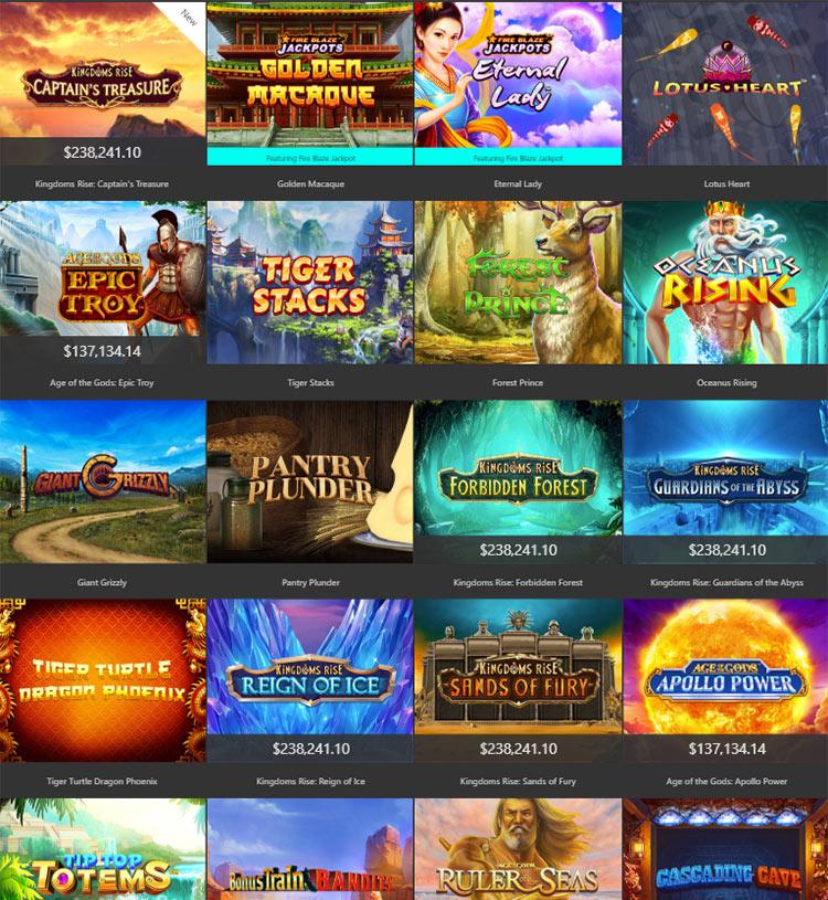 Các trò chơi trên casino trực tuyến rất đa dạng